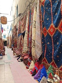 Carpets in Morocco