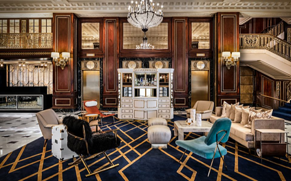 The Blackstone, Autograph Collection_Lobby – Timothy's Hutch-72