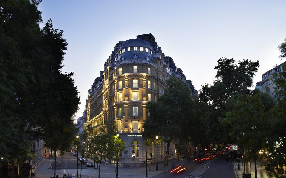 Corinthia Hotel London Exterior Night